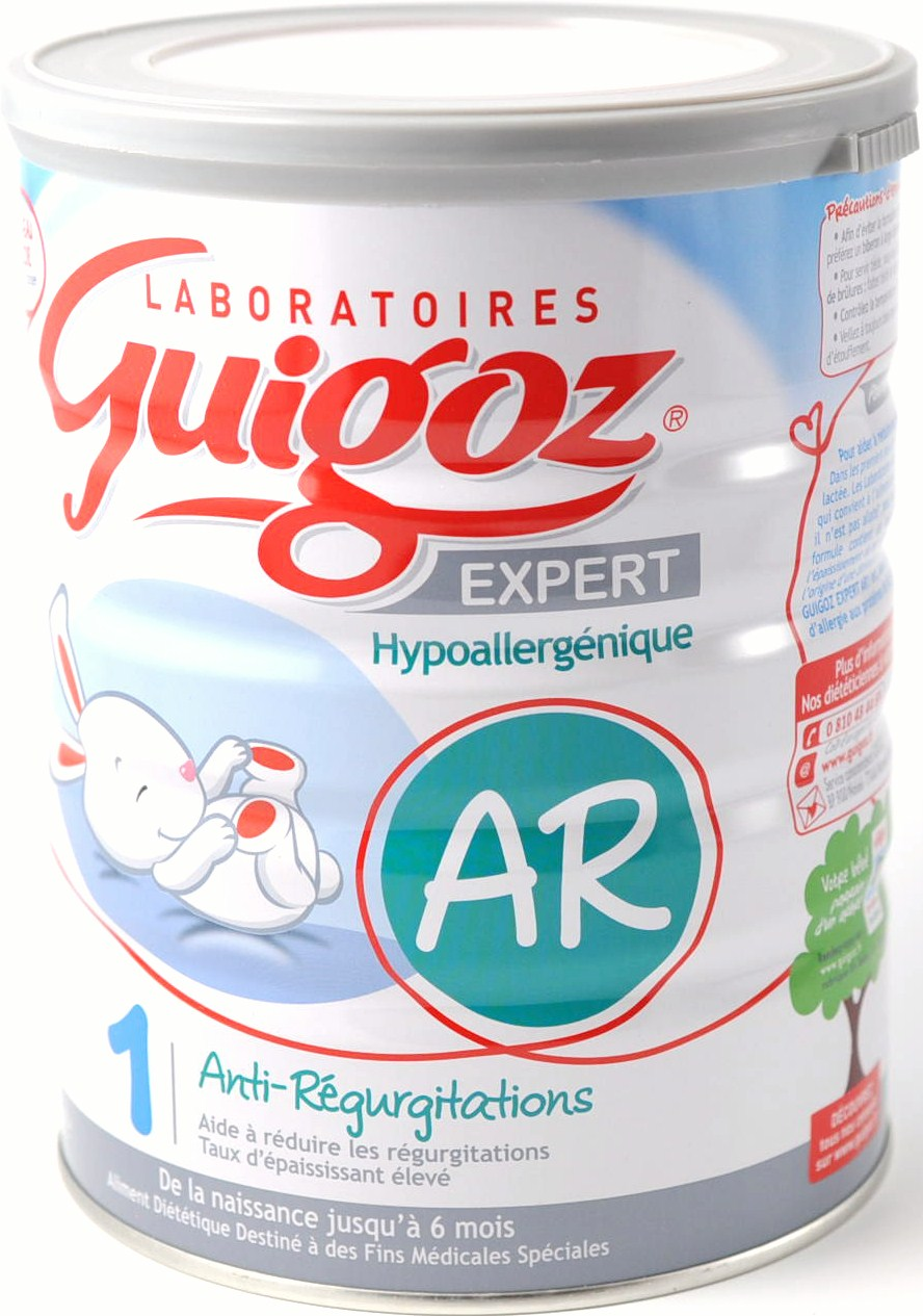 Guigoz AR 1 er age - lait infantile anti-regurgitation