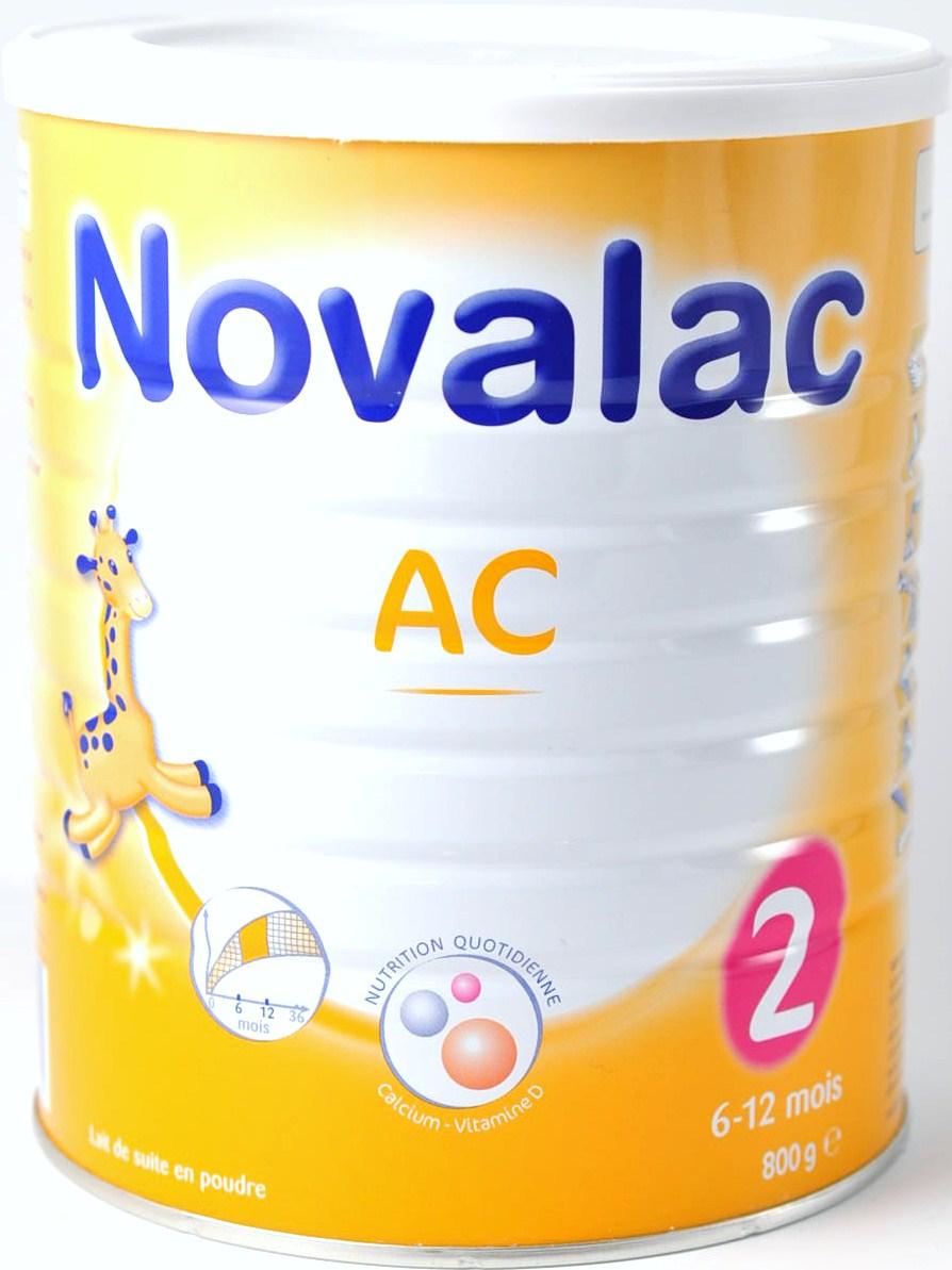 novalac ac 2 me ge lait infantile 800 g. Black Bedroom Furniture Sets. Home Design Ideas